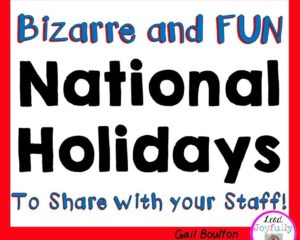 Bizarre and FUN National Holidays
