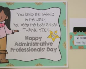 Administrative Professionals' Day is April 26th!