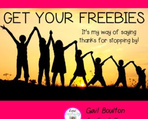 Get your FREEBIES!