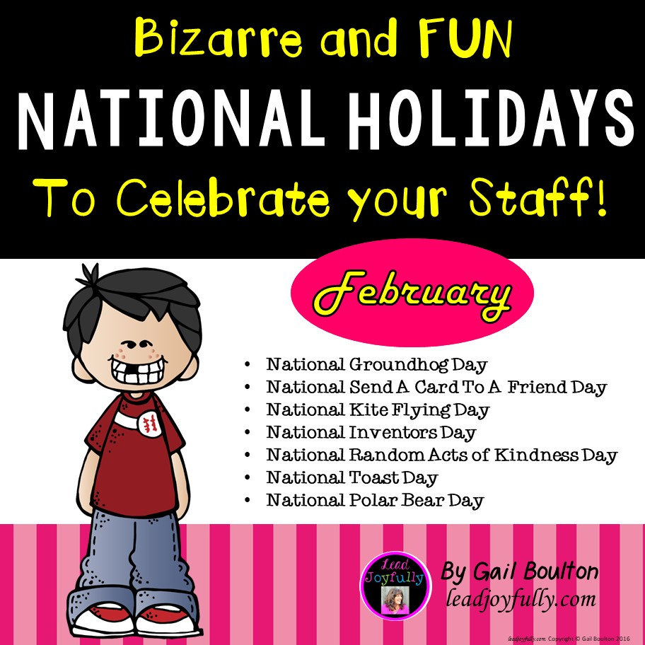 Bizarre and fun national holidays to celebrate your staff for Unique holidays