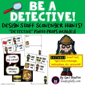 be a detective
