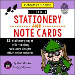 detectivestationery