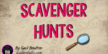 Have Fun at Work with Scavenger Hunts