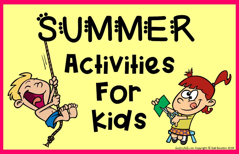 Planning Summer Activities For Your Kids Free Checklist Included